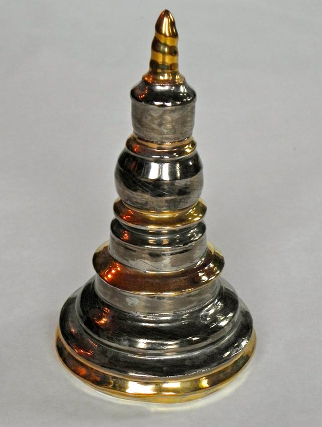 Silver & Gold Stupa