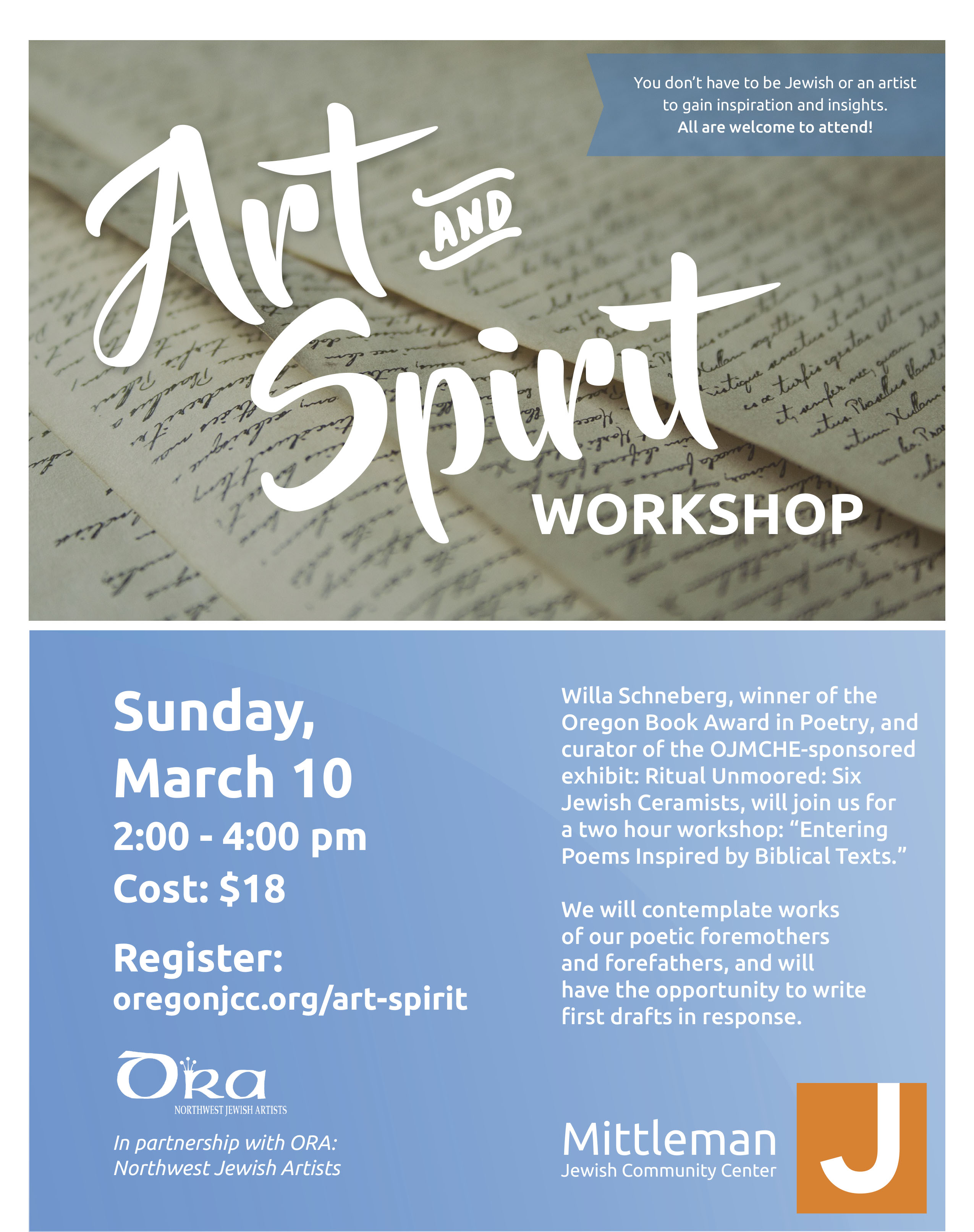 Art and Spirit Spring 2019