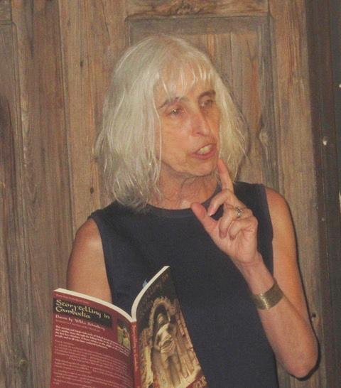 Willa reading at Bar 55_lightend